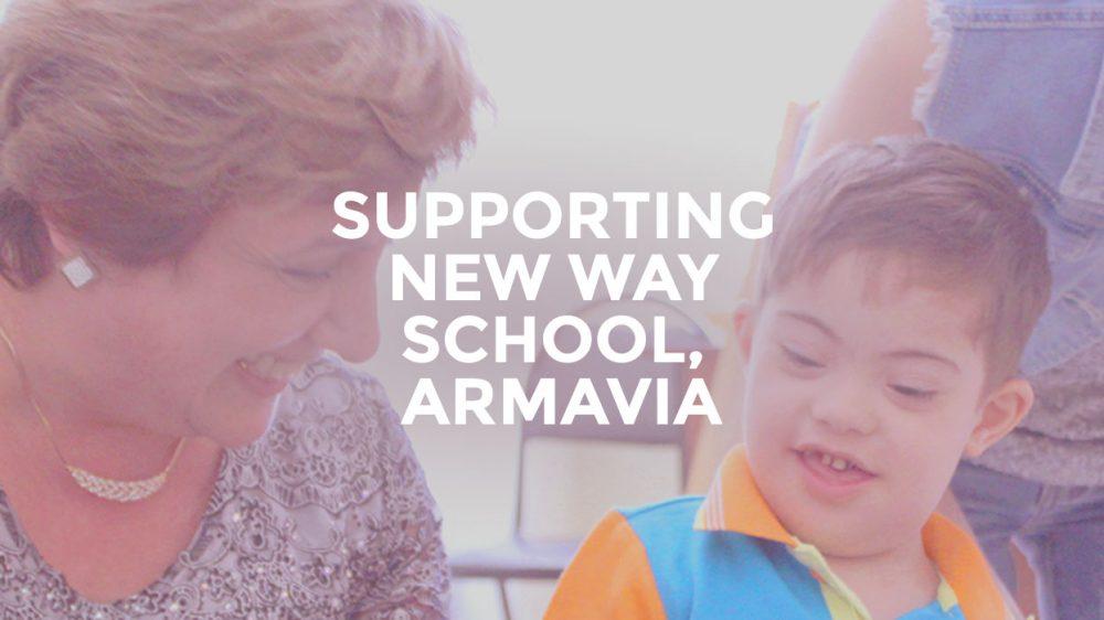 Supporting New Way School Armavia