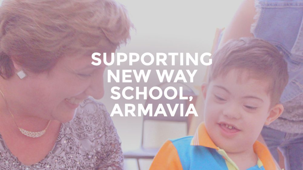 Supporting New Way School Armavia