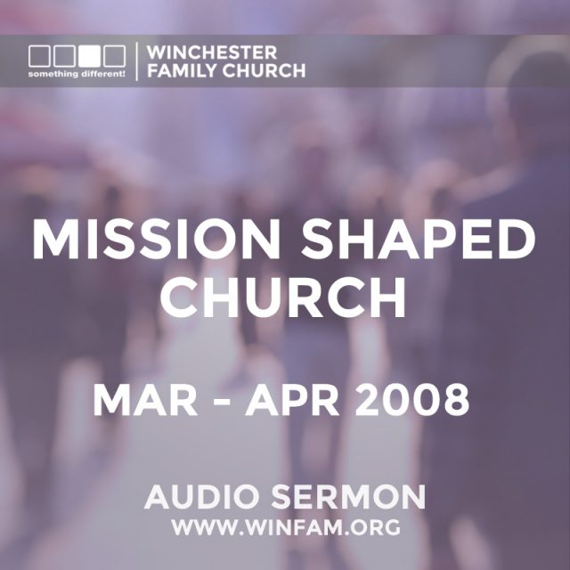 Mission Shaped Church