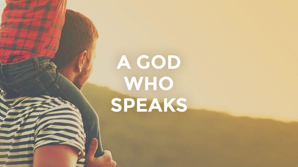 A God Who Speaks