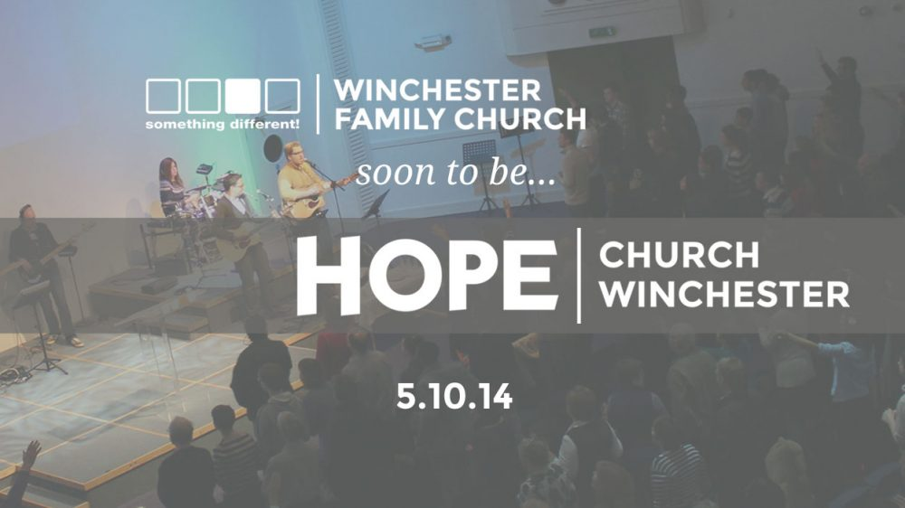 Becoming Hope Church Winchester