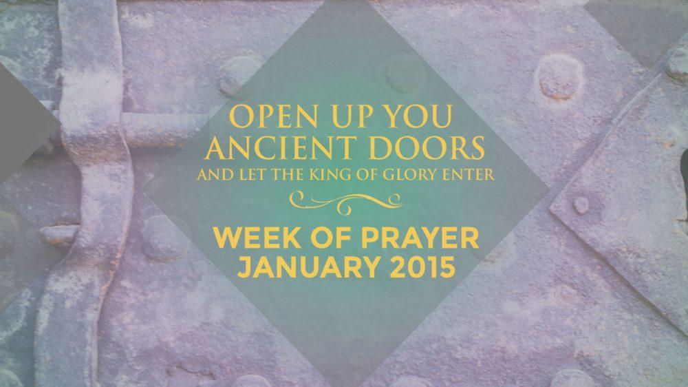 Prayer Week Blog #1