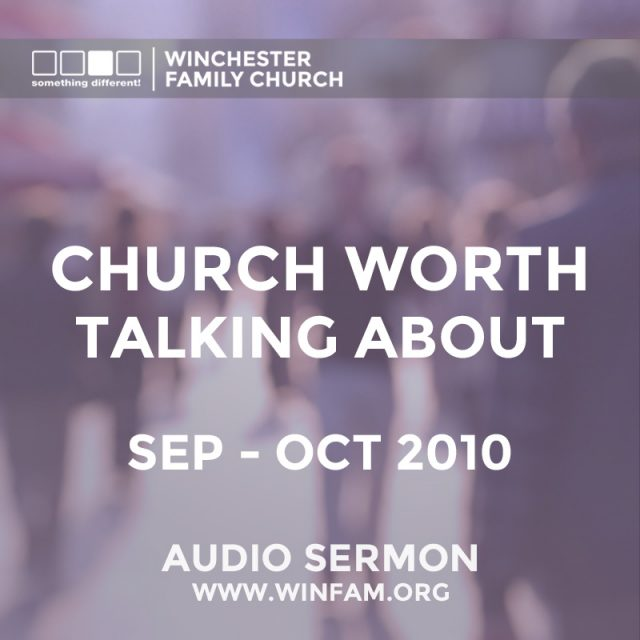 Church Worth Talking About