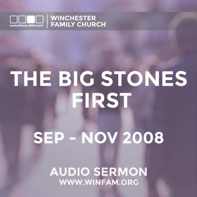 The Big Stones First