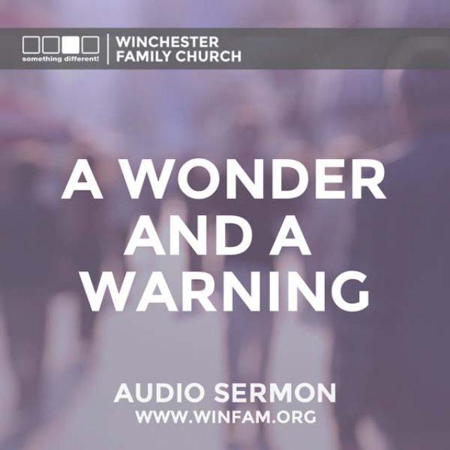 A Wonder and a Warning
