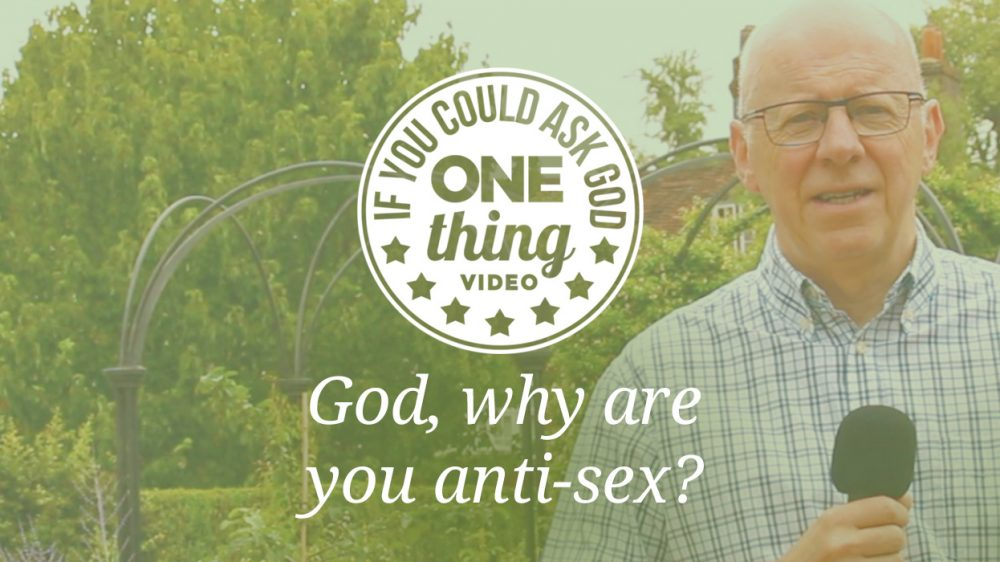 God, Why Are You Anti-Sex?