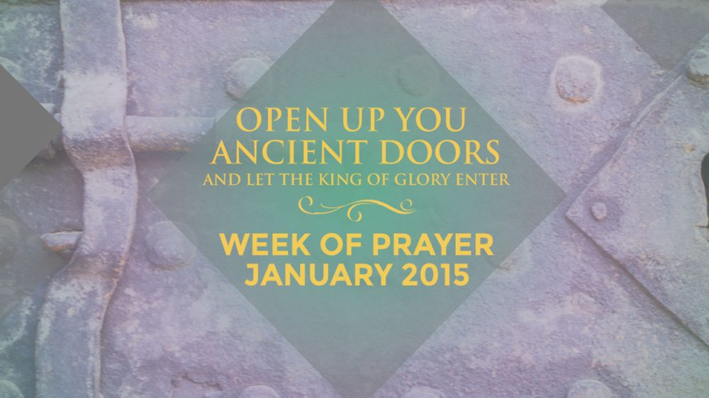 Prayer Week Blog #1