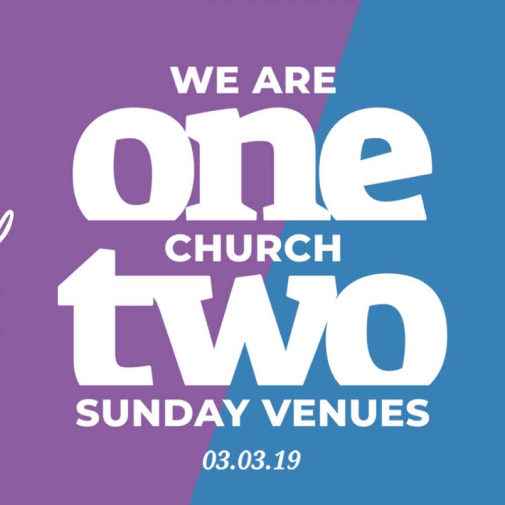One Church, Two Sunday Venues
