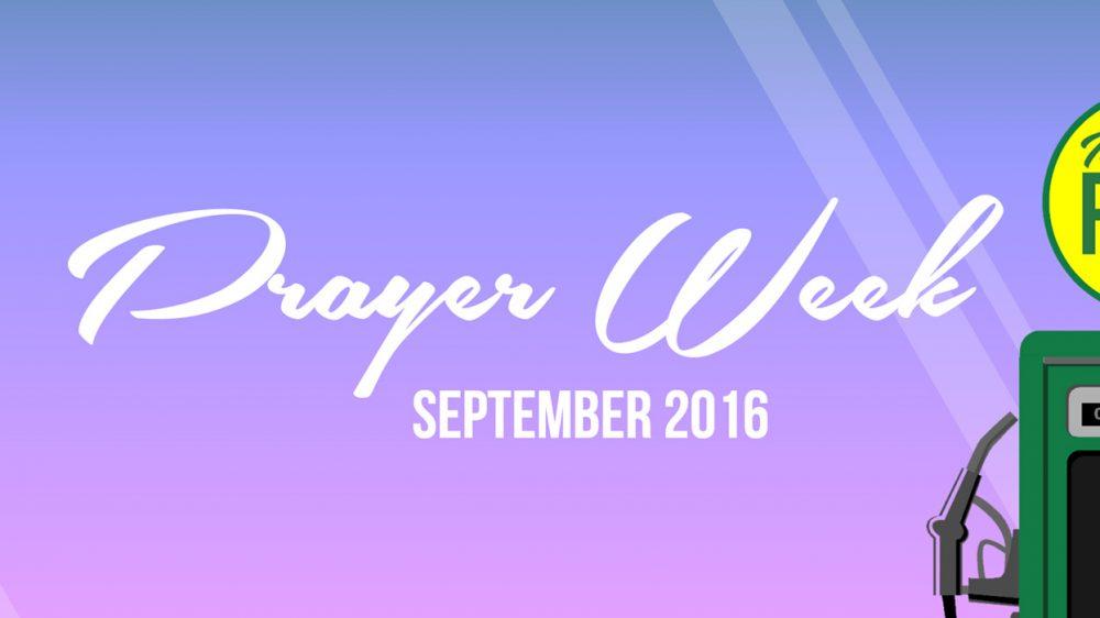 Prayer Week September 2016