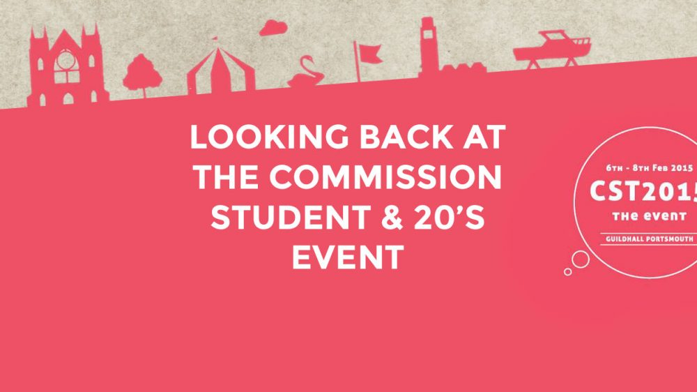 Looking Back at the Commission Student and 20's Event 2015