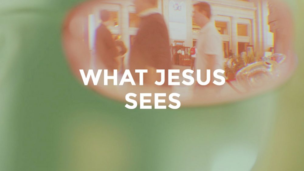 What Jesus Sees